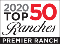 Top 50 Ranches Logo