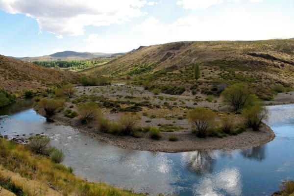 a bend in the river, Estancia Ranquilco