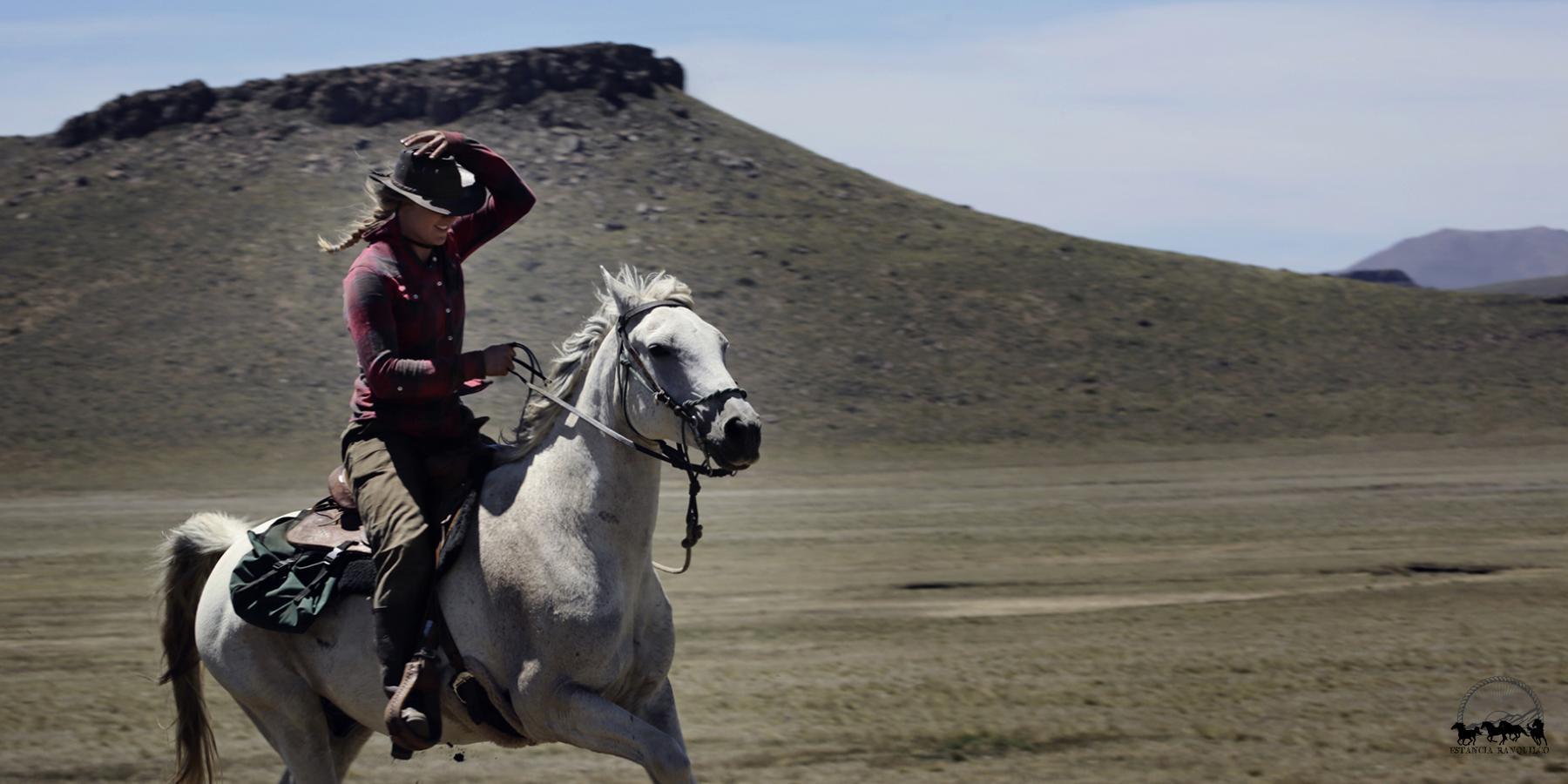 horseback adventures through in Patagonia