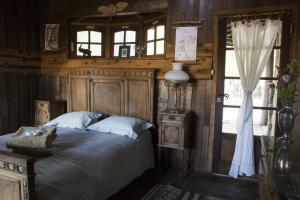 Guest room at Estancia Ranquilco lodge in Patagonia Argentina