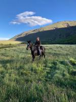 Horseback riding in Patagonia Argentina on a riding holiday