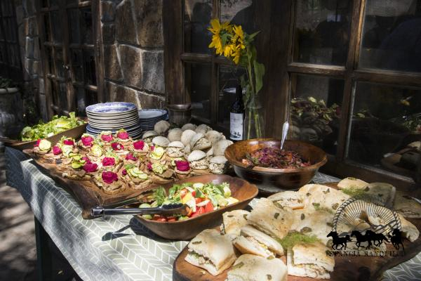 Farm to table food at Ranquilco